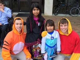 Volunteering at Fall Fest
